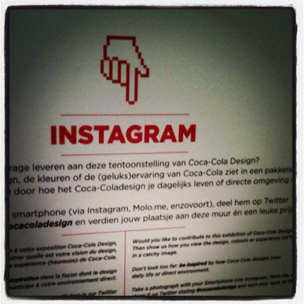 Coca-Cola Belgium Instagram FINN social media activation